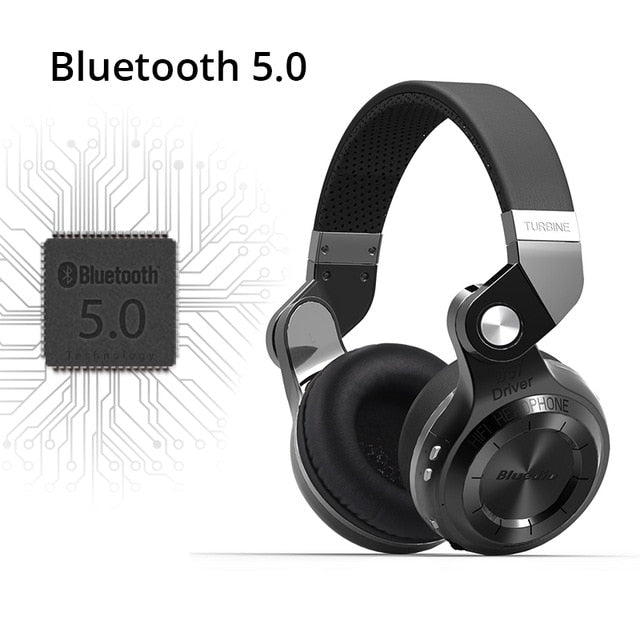 Folding Bluetooth 5.1 Headphones - Trekmor
