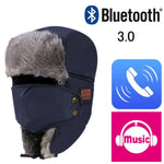 Bluetooth 3.0 Headphone Winter Hat - Trekmor
