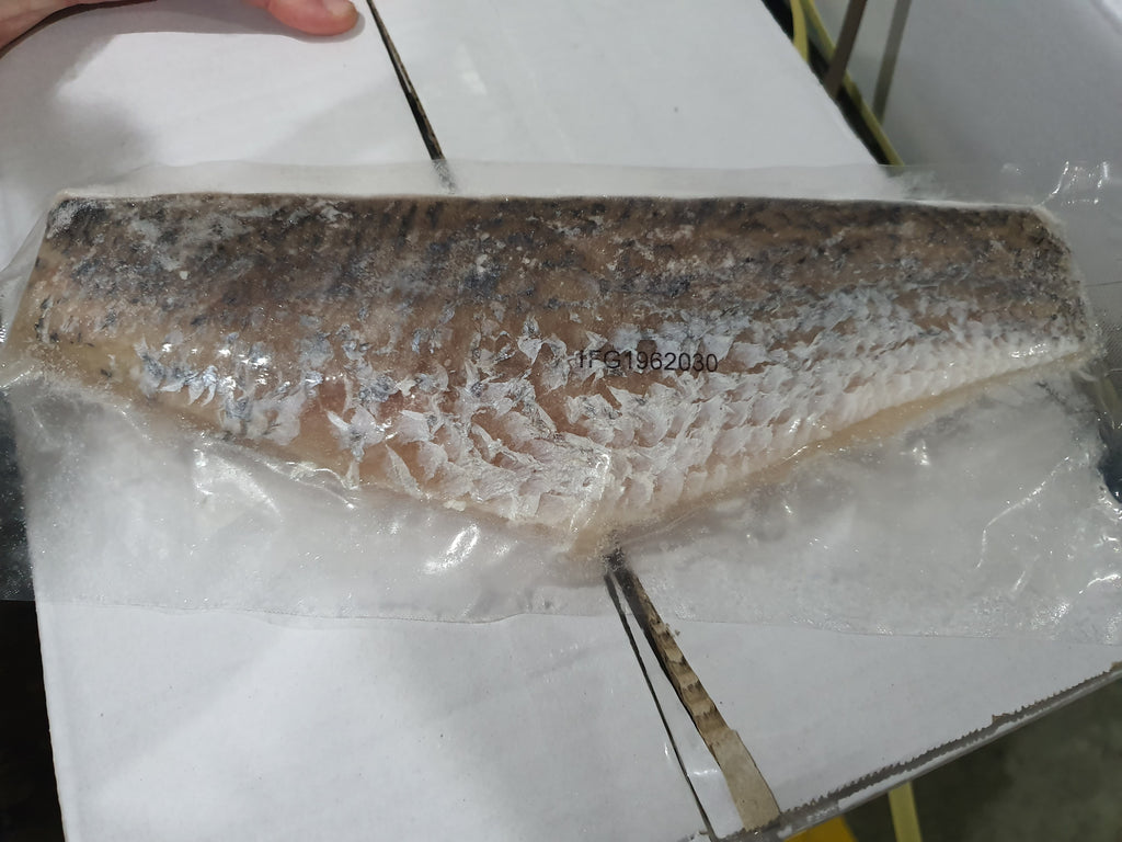Barramundi Fillets Skin On IVP 5kg Ctn