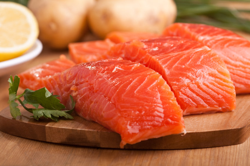 Salmon Portions Skinless IVP 5kg