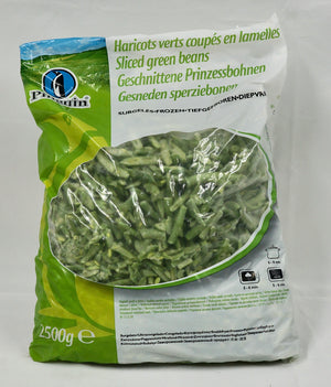 Sliced Green Beans 2.5kg Bag