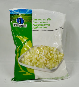 Diced Onion 2.5kg Bag