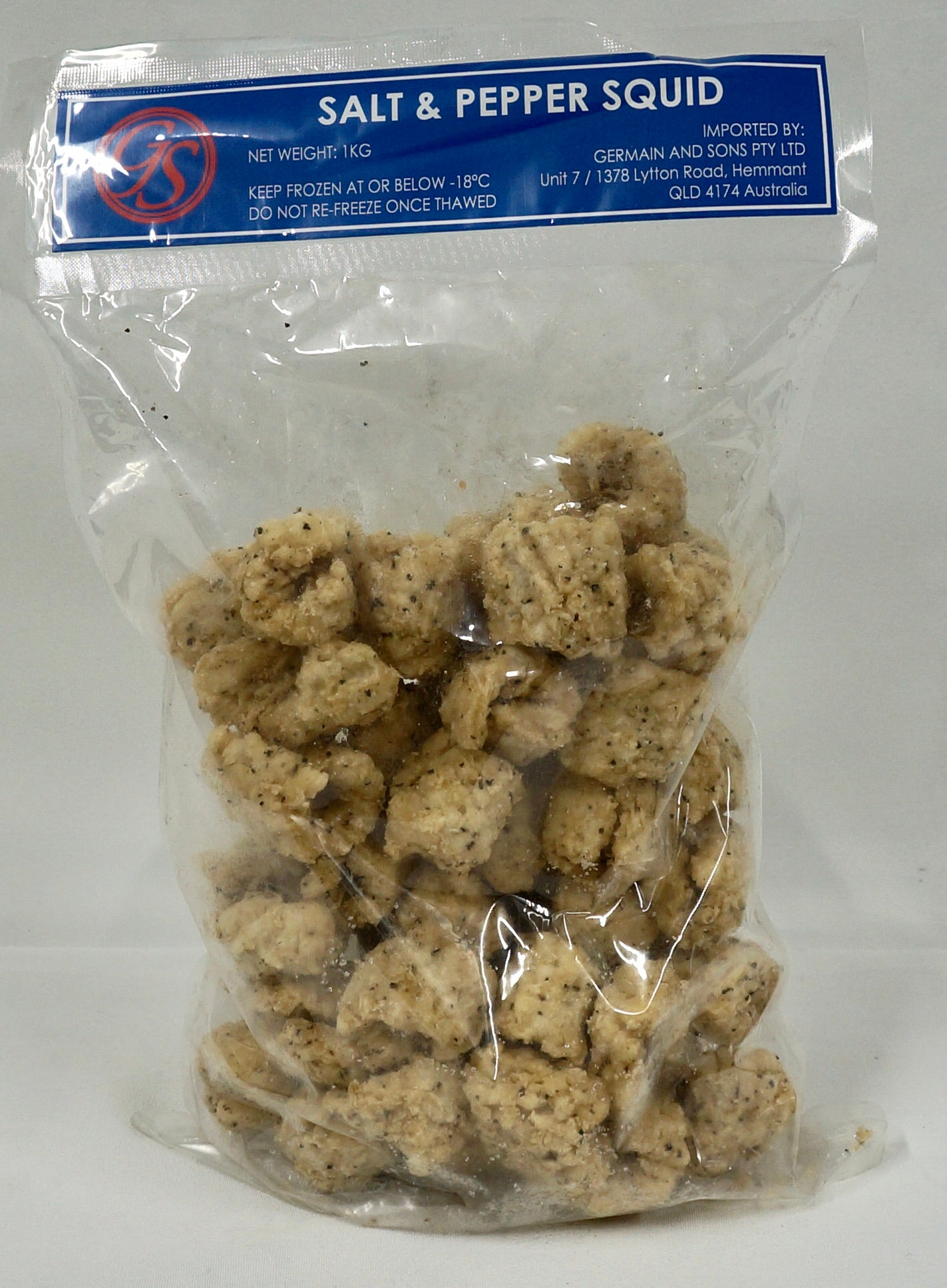 Salt and Pepper Calamari 1kg Bag