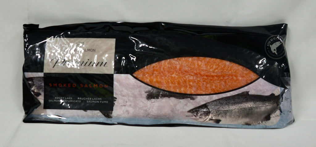 Sliced Smoked Salmon Sides 1kg