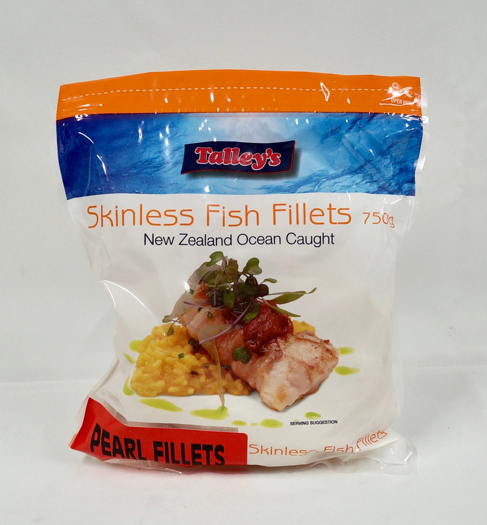 Pearl Fillets Skinless 750gm Bag