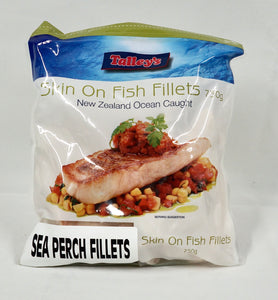 Seaperch Fillets Skin On 750g Bag
