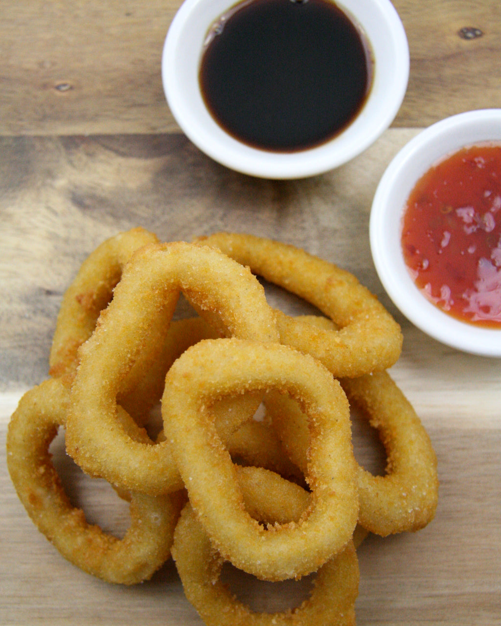 Crumbed Calamari Rings 1kg Bag
