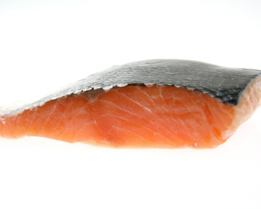 Salmon Portions Skin On IVP 5kg Ctn