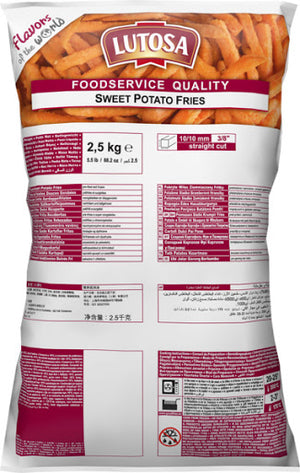 Sweet Potato Fries 2.5kg Bag