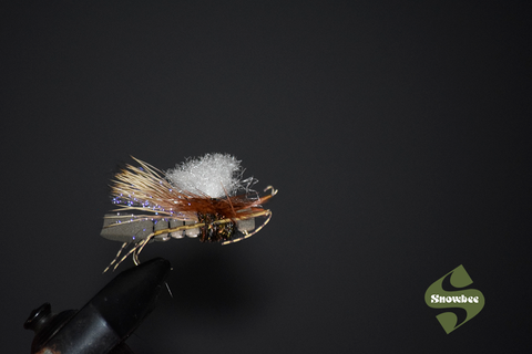 Dry fly fishing with snowbee