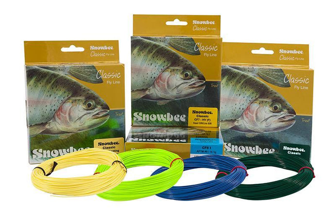 Classic Trout Lines-fly line-Snowbee USA