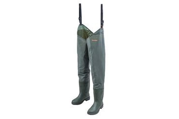 Granite Hi-Elastic PVC Thigh Waders