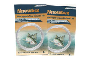 Knotted Droppered Leaders (Monofilament Knotted Leaders with Droppers) - Snowbee USA