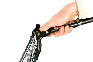 Telescopic/folding Landing Nets W/ Free Matching Scabbard Essentials