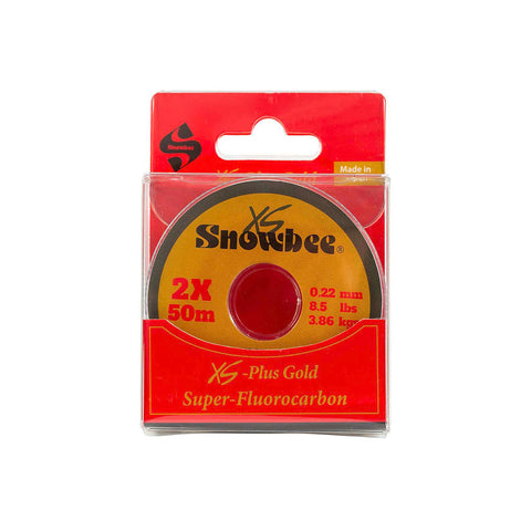 XS-Plus Gold Super-Fluorocarbon Tippet 50m