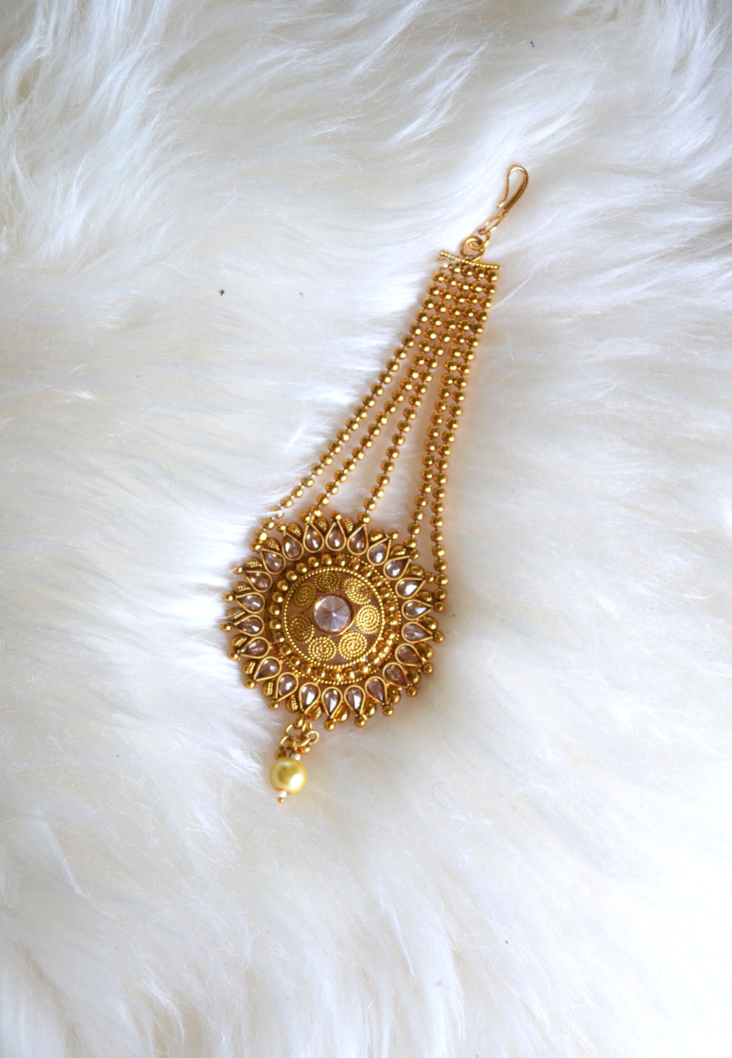 Gold-Plated Tikka with Circular End