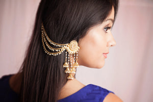 Gold Plated Bell Earrings