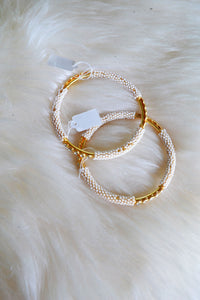 White Pearl and Gold