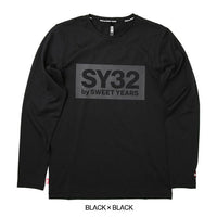 SY32 REGULAR BOX LOGO L/S TEE