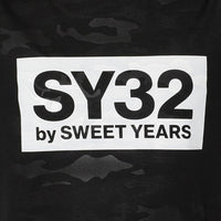 SY32 REGULAR CAMO LOGO TEE