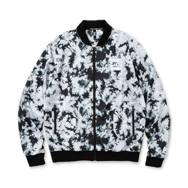 SY32 GRAPHIC BOMBER JK CAMO MIX 01