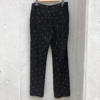 PHILOSOPHY Gold studs pants