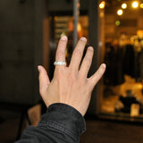WWW.WILL SHOTT Chain Texture Ring