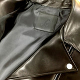 R. LAMB LEATHER RIDERS JACKET