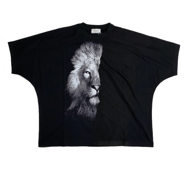TAAKK  LAYERED T-Shirt (LION see-through)
