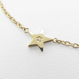 SYMPATHY OF SOUL Little Shine Star Bracelet - K10Yellow Gold