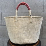 meong blue 12inch Sisal bag simple customize in tassel