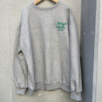Back embroidery pullover
