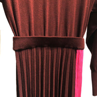 MIHARAYASUHIRO E03DR521-0 pleats dress