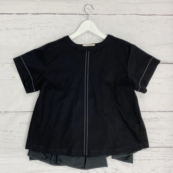 RUMCHE BLACK BackFrill Tee