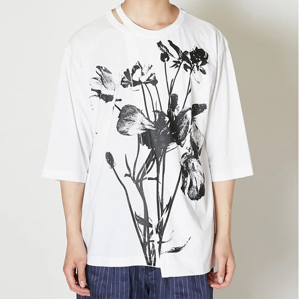 TAAKK W Layered Flower Tee