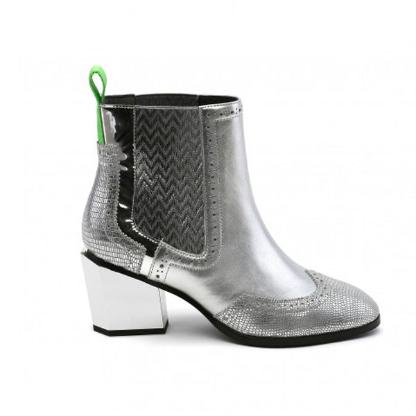 UNITED NUDE  Tetra Chelsea Boot Silver