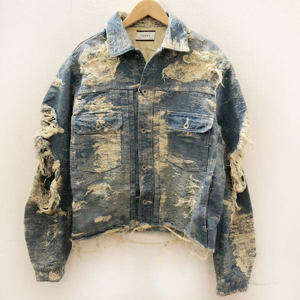 TAAKK(ターク)  19AW Denim Jacket Blue wash