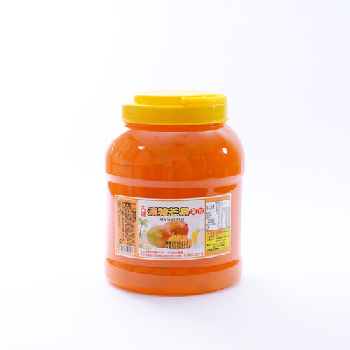 芒果果粒 Mango Jam With Flesh