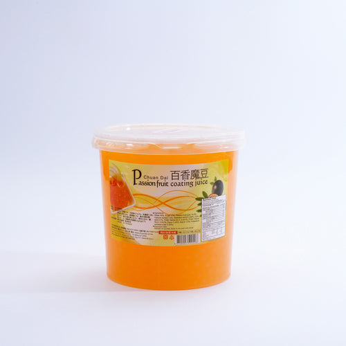 百香魔豆(爆爆珠) Passion Fruit Coating Juice
