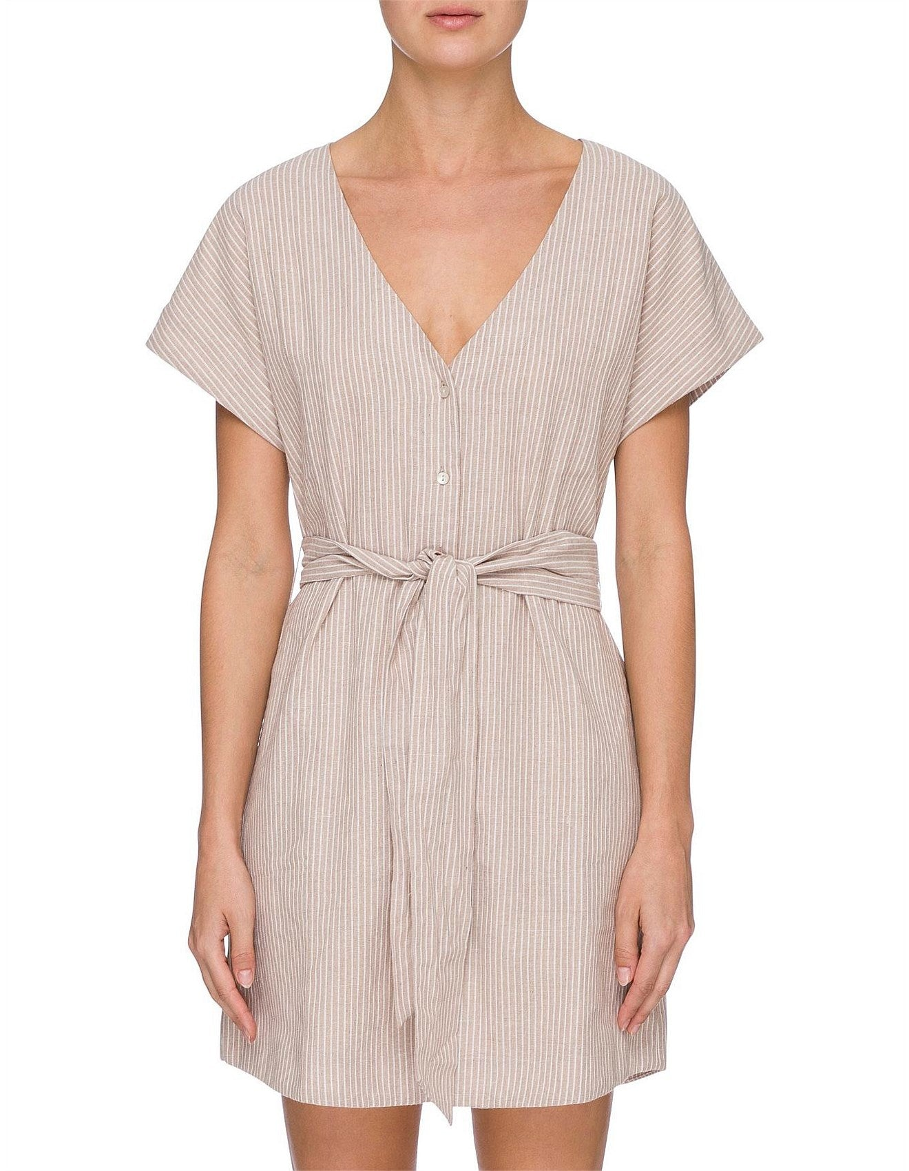 Piper Button Front Dress by Nude Lucy