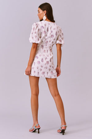 Calypso SS Mini Dress by Finders Keepers.