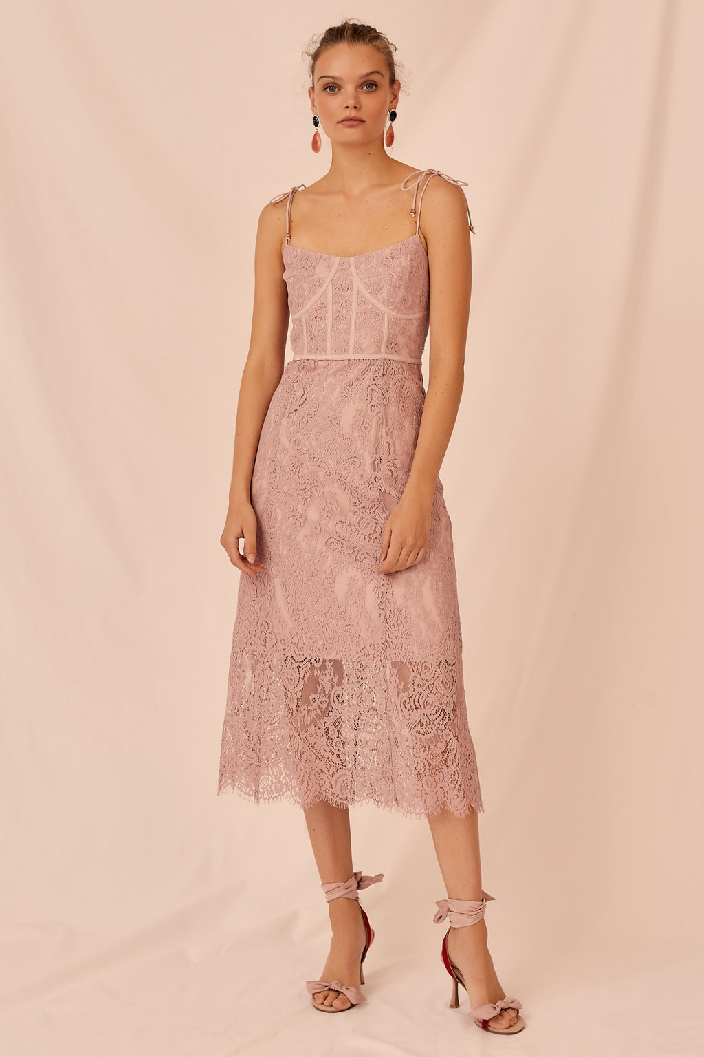 Sense Dress in Rose by Keepsake the Label