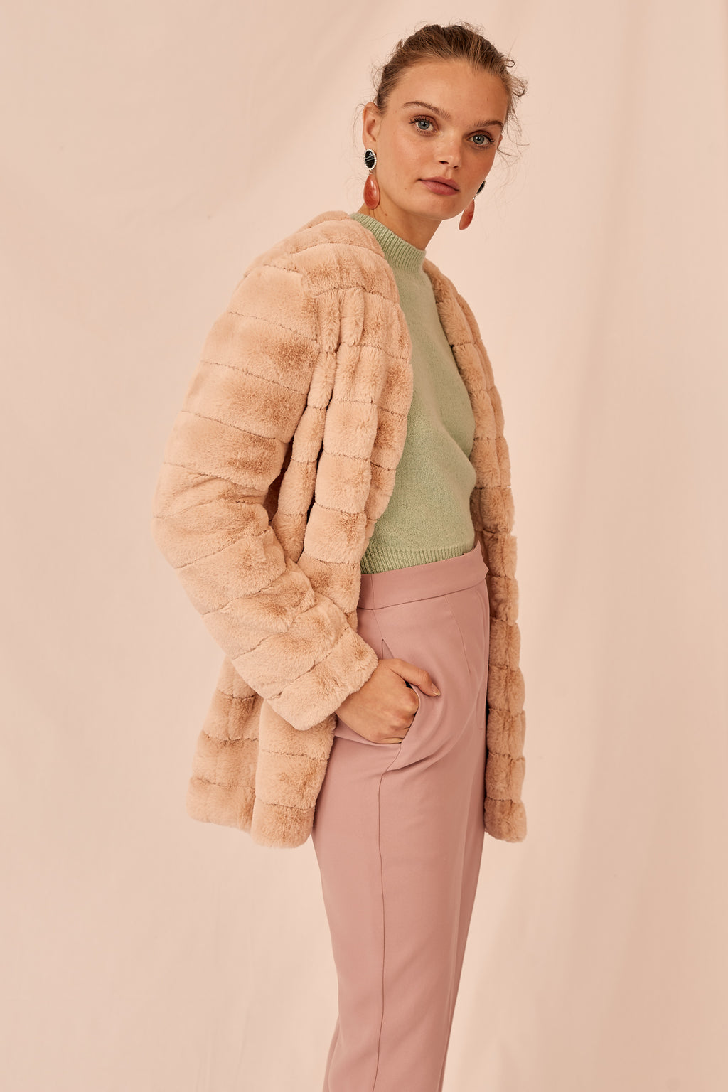 Scenery Fur Jacket Keepsake The Label