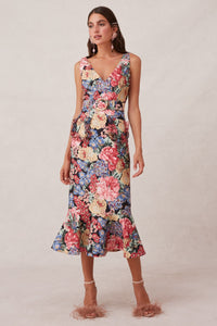 Runaway Midi Dress by Keepsake