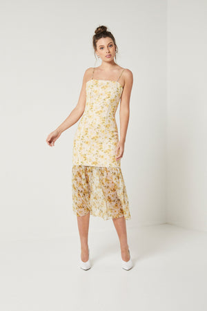 Wattle Dress with detachable skirt Elliatt