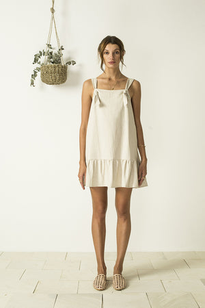 Lilou Pinafore Dress by Bird and Kite
