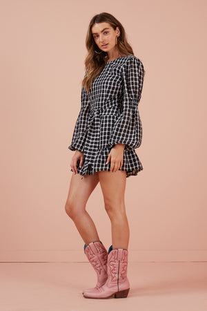 Finders Keepers Picnic Mini Dress