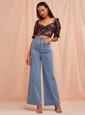 Finders Keepers Claudia Denim Jean