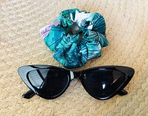 Tropical Palms Scrunchie The Wednesday Collective