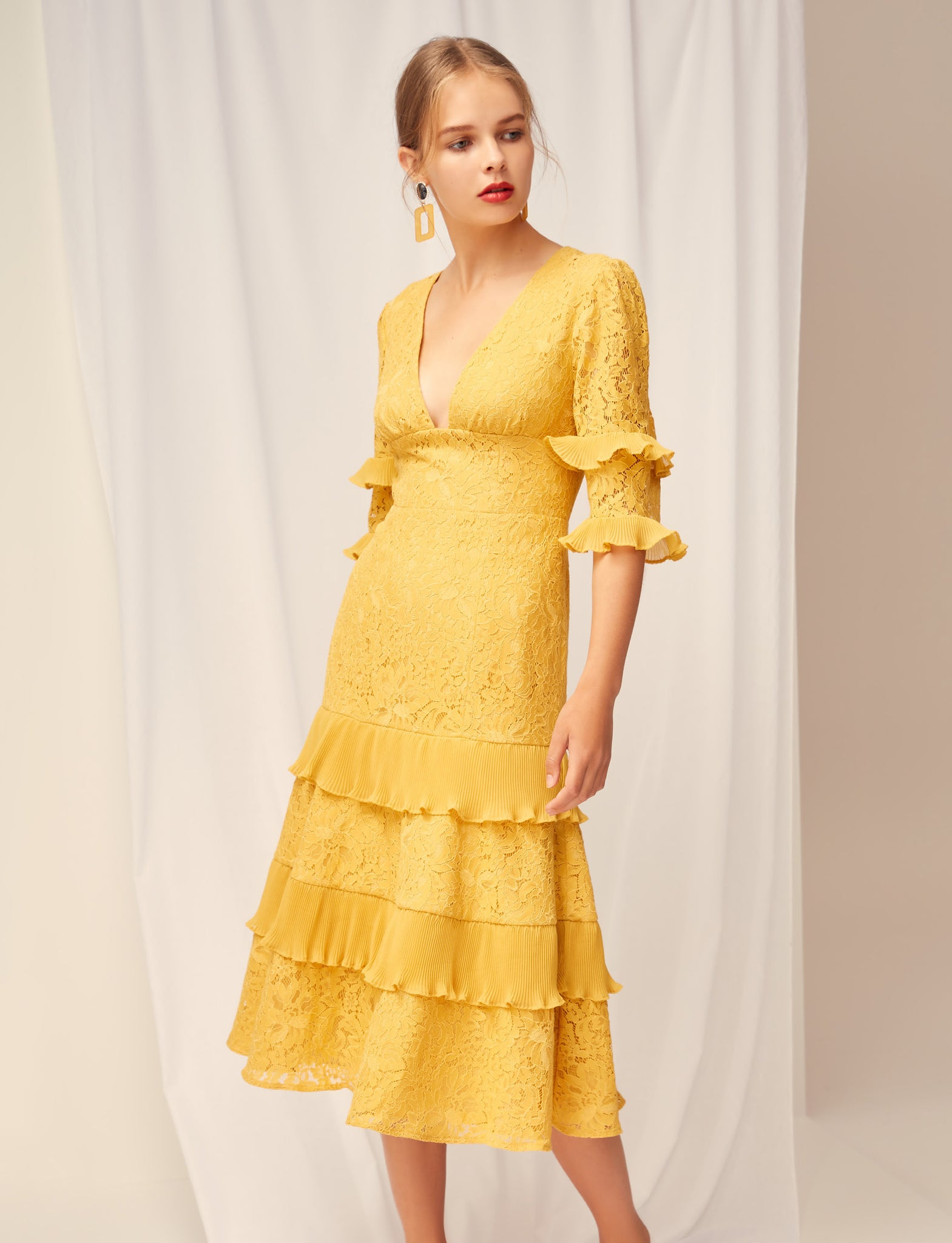 Timeless Lace Midi Dress Keepsake the Label